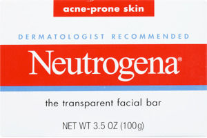 Neutrogena Acne-Prone Skin Transparent Facial Bar