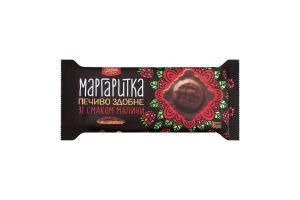 Печенье сдобное со вкусом малины Маргаритка Delicia м/у 150г