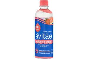 Avitae Caffeine + Water Purfied Water + 90mg Natural Caffeine Strawberry Guava