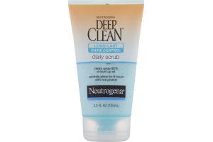 Neutrogena Deep Clean Long Last Shine Control Daily Scrub
