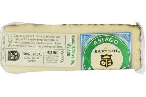 Sartori Basil & Olive Oil Asiago