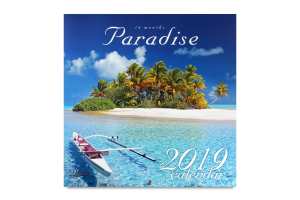 Календарь 2019 Paradise Lounge Calendar Діана плюс 1шт