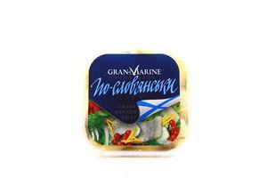 Оселедець GranMarine філе-шматочки По-слов'янськи 300г х9