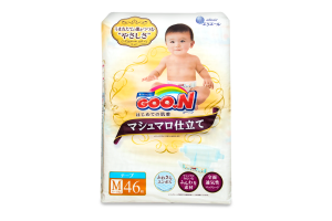 Подгузники Goo.N Super Premium M 6-11кг