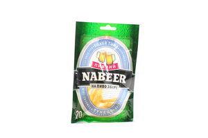 Тунец серебристый солено-сушеный филе-соломка Пивний Nabeer м/у 20г