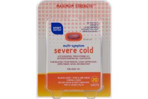 Smart Sense Multi-Symptom Severe Cold Caplets - 20 CT