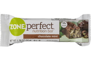 ZonePerfect Nutrition Bar Chocolate Mint