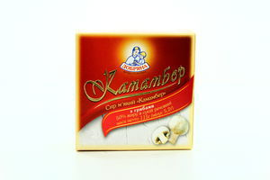 Сыр Добряна Camembert мягкий с грибами 50% 115г