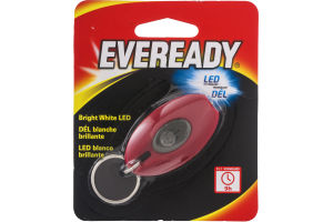 Eveready Bright White Flashlight Keychain LED
