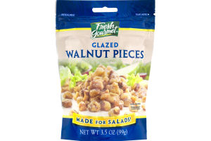 Fresh Gourmet Glazed Walnut Pieces