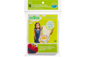 Neat Solutions Party Topper Disposable Toilet Seat Covers Sesame Street - 10 CT