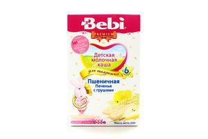 Каша молочная пшеничная от 6 мес Печенье с грушами Premium Bebi к/у 200г
