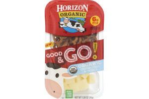 Horizon Organic Good & Go! Organic Cheddar Cheese & Pretzels