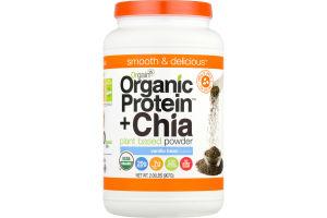 Orgain Organic Protein + Chia Plant Based Powder Vanilla Bean