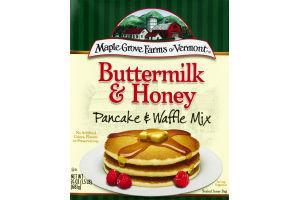 Maple Grove Farms Of Vermont Buttermilk & Honey Pancake & Waffle Mix