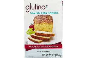 Glutino Gluten Free Pantry Favorite Sandwich Bread
