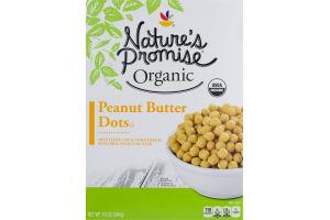 Nature's Promise Organic Peanut Butter Dots