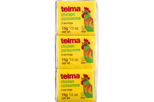 Telma Chicken Consomme - 3 CT