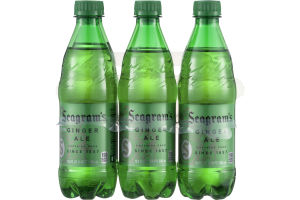 Seagram's Ginger Ale Caffeine Free - 6 CT