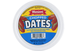 Mariani Premium Dates Chopped