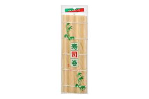 Килимок бамбуковий JS 24см х 24см