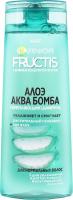 Шампунь для волос укрепляющий Алоэ Аква Бомба Fructis Garnier 250мл