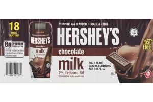 Hershey's Chocolate Milk 2% Reduced Fat - 18 CT