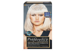 Крем-фарба для волосся Preference Стокгольм №10.21 L'Orеal