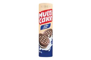 Печиво Roshen Мульті-Кейк з начинкою молоко-крем 180г х35