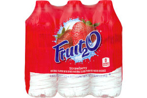 Fruit2O Water Beverage Strawberry - 6 CT