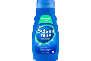 Selsun Blue Dandruff Shampoo Moisruizing with Aloe For Dry Scalp & Hair