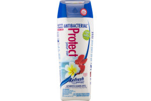 Refresh Your Car! Antibacterial Protect Automotive Cleaning Wipes Hawaiian Sunrise Scent - 25 CT
