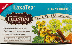 Celestial Seasonings Wellness Tea LaxaTea - 20 CT