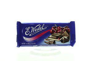 Шоколад E.Wedel темний з вишневою начинкою 100г х20