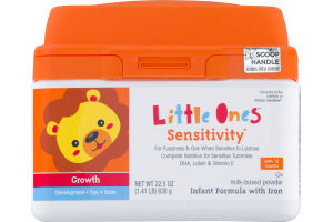 Little Ones Sensitivity Infant Formula With Iron Birth - 12 Months
