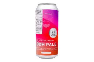 Пиво Cloudwater DDH Pale Recipe Evol#1 светлое ж/б
