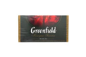 Чай чорний Kenyan Sunrise Greenfield пакет з/я 2г*25шт
