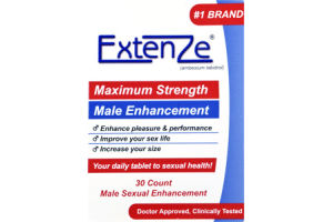 Extenze Maximum Strength Male Enhancement Tablets - 30 CT
