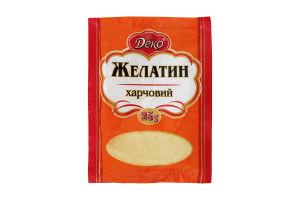 Желатин харчовий Деко м/у 25г