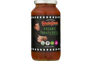 Uncle Steve's Organic Tomato Basil