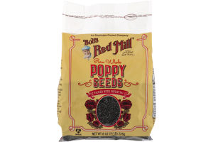 Bob's Red Mill Raw Whole Poppy Seeds