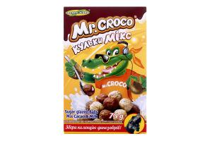 Сніданки сухі з какао і молоком Кульки мікс Золоте Зерно к/у 75г