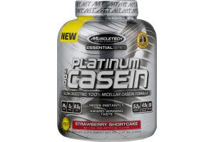 Muscletech Platinum 100% Micellar Casein Formula Strawberry Shortcake