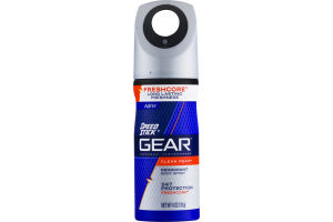 Speed Stick GEAR Deodorant Body Spray Clean Peak