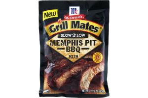 McCormick Grill Mates Slow & Low Memphis Pit BBQ Rub