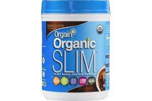 Orgain Organic Slim Plant Based Protein Powder Chocolate
