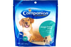 Companion Mega-Bone Minis Small Dog Treats