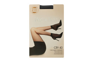 Шкарпетки жіночі Incanto Сity 40den 2пари