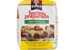 Quaker White Flour Tortilla Mix