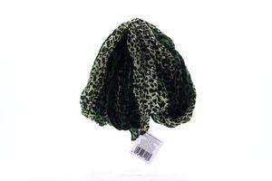 Шарф Зеленый Леопард №118917 Деліс 1шт